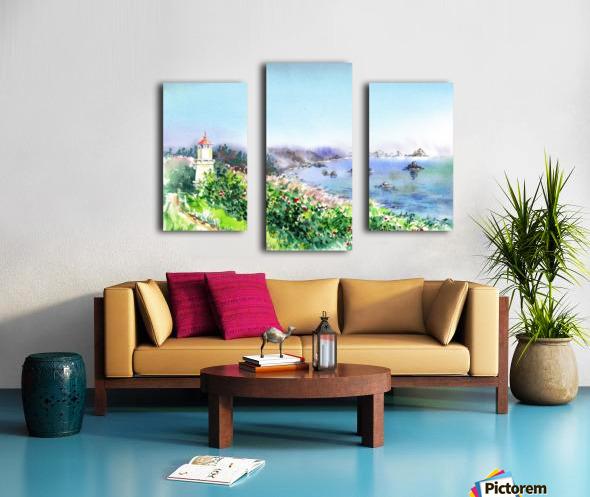 Lighthouse Trinidad California Canvas print