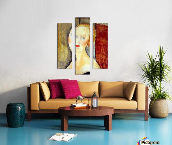 Modigliani - Portrait de Germaine Survage Canvas print