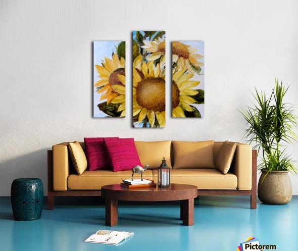 Floarea soarelui Canvas print