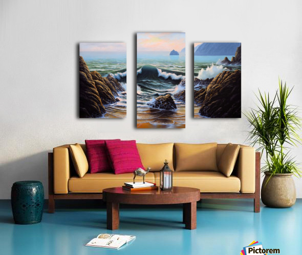 Dancing Tide Canvas print