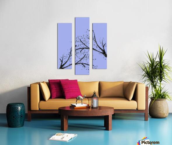 watercolor tree Canvas print
