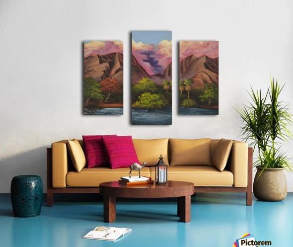 Olowalu Canvas print