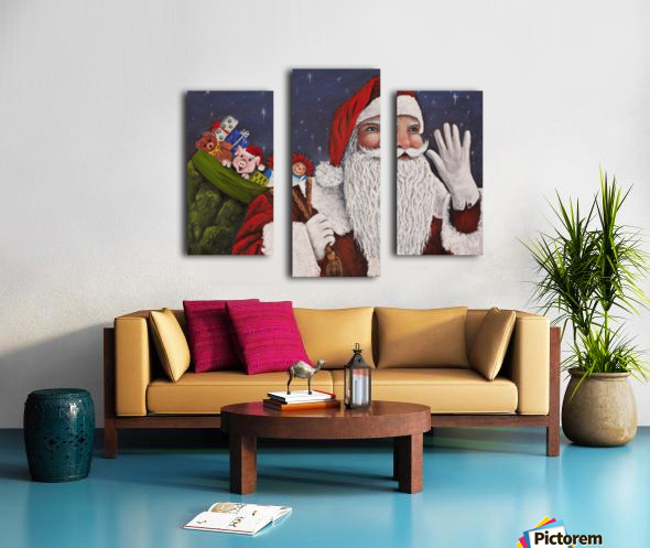Merry Christmas To All Canvas print