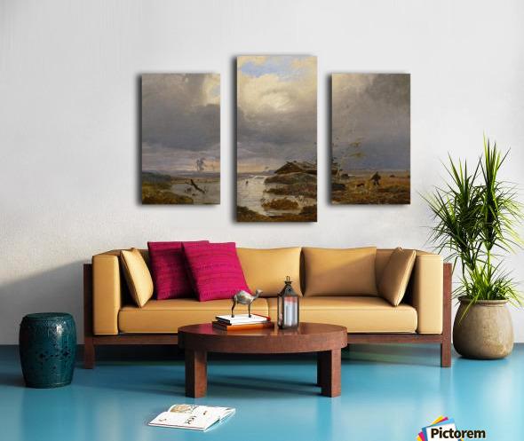 Skandinavische Landschaft Canvas print
