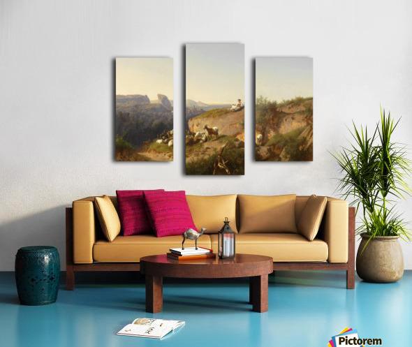 The sheppardes Canvas print