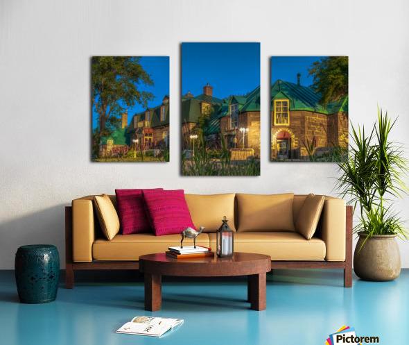 Maison William Wakeham Canvas print