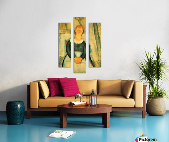 Modigliani - The beautiful merchant Canvas print