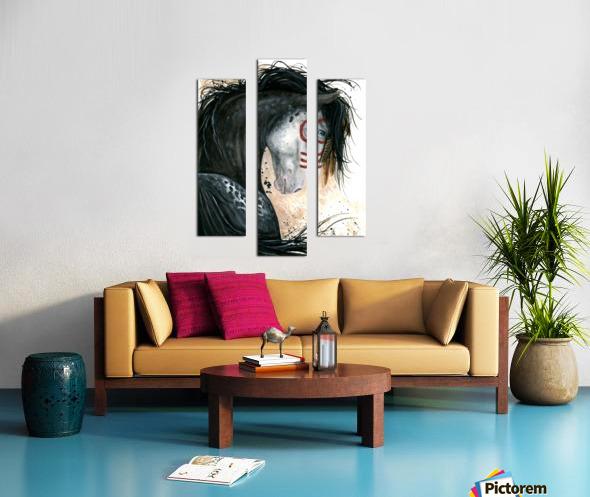 Appalossa Painted Horse Canvas print