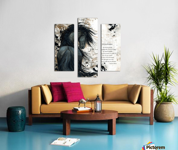 DreamWalker Dream Horse  Canvas print