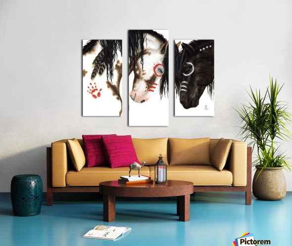 Majestic Spirit Horses Canvas print