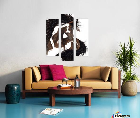 Pinto Horse Canvas print