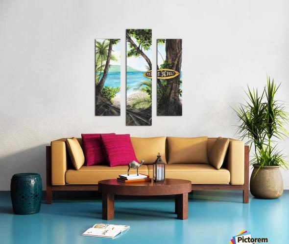 Collection COSTA RICA-Matapalo Impression sur toile