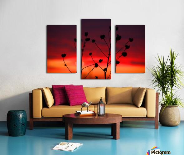 Liberty Sunset Canvas print