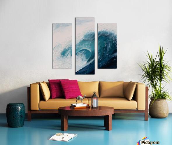 Collection WAVES-Current Impression sur toile