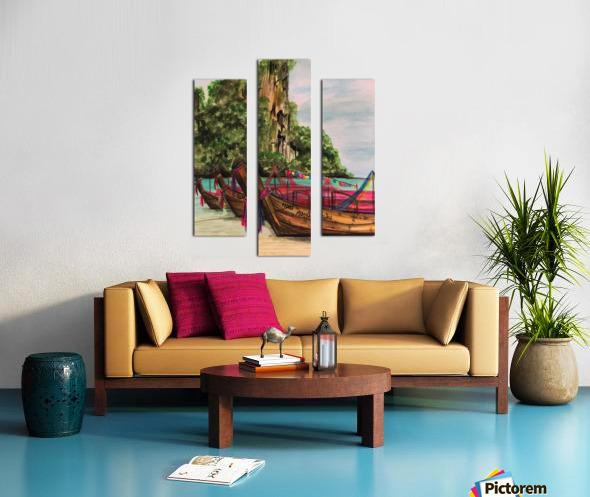 Collection THAILAND-Phi Phi island Impression sur toile