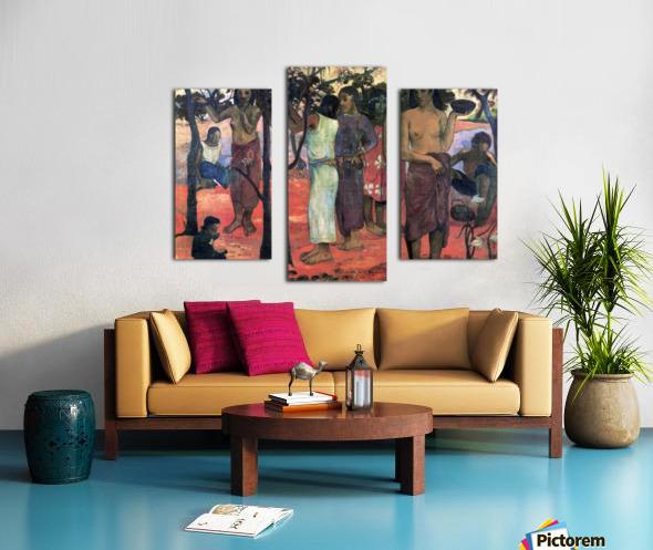 Nava Nava Mehana by Gauguin Canvas print