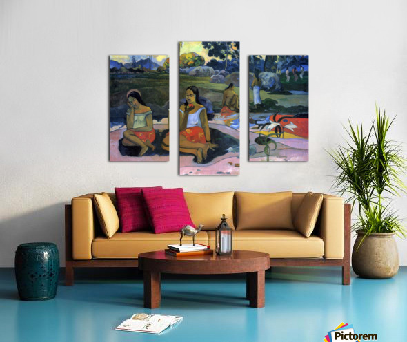 Nave Nave Moe by Gauguin Canvas print