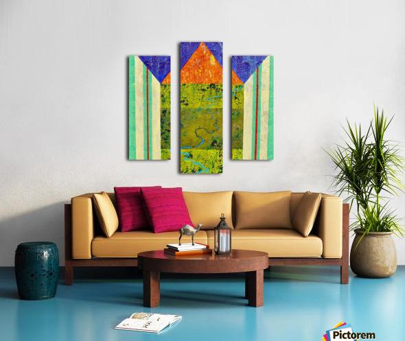 Blue Vein Canvas print