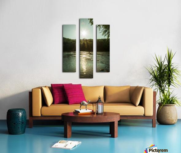 Sunlight Canvas print