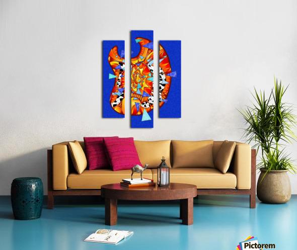 Dysitron V2 Canvas print