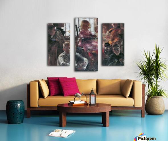 Hull family by Lovis Corinth Canvas print