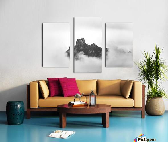 Sleeping golem Canvas print