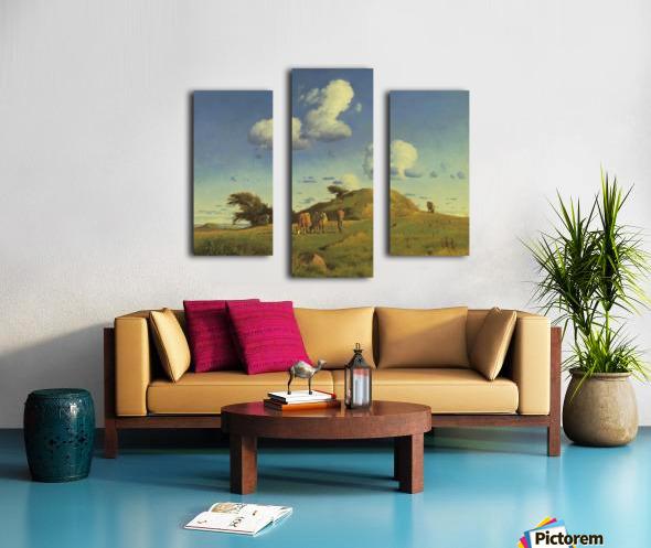 Hankehoj Canvas print