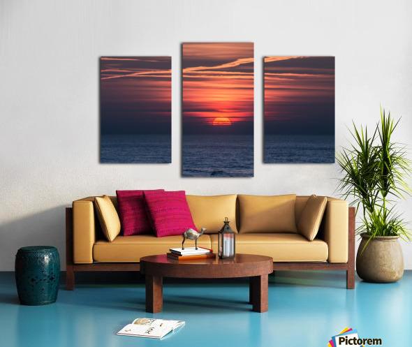Sea lamp Canvas print