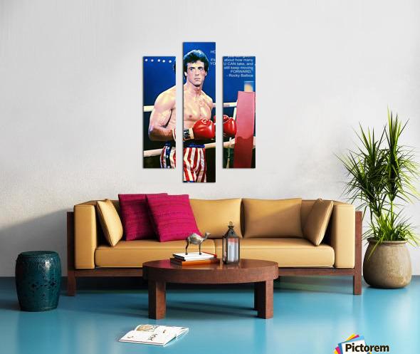 Rocky Sylvester Stallone Canvas print