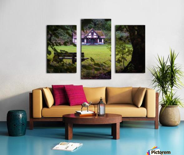 Craig-y-Nos Country park pavilion Canvas print