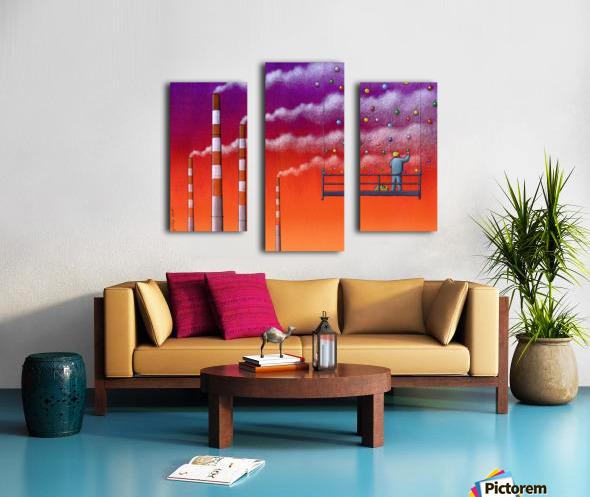 Decorations Canvas print