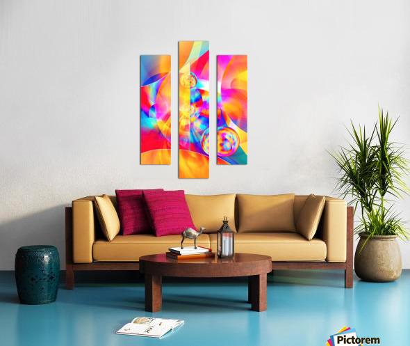 4th Dimension -Abstract Art XVII Canvas print