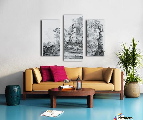 At hunt Canvas print