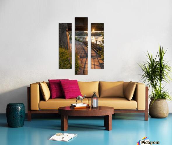 BridgeBoardwalk Impression sur toile
