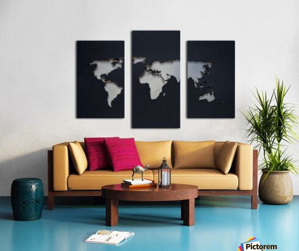 Dark Continent GoGo Canvas print