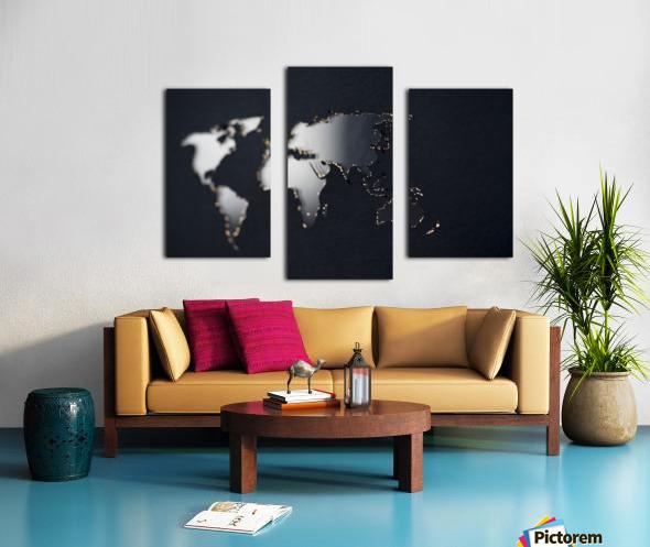Dark Continent Fadana Canvas print