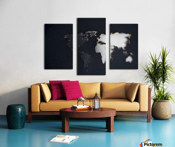Dark Continent Briala Canvas print