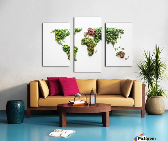 Light Continent Ciriel Canvas print