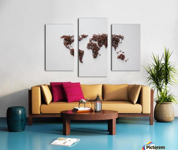 Light Continent Desertia Canvas print