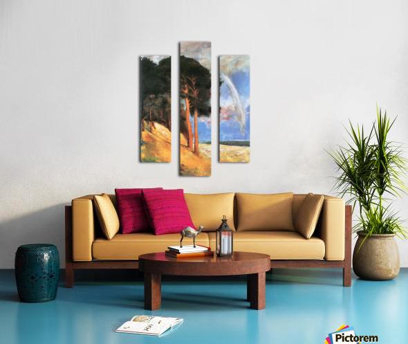 Landscape 2 by Lesser Ury Canvas print