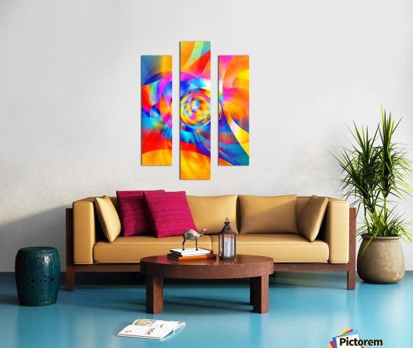 4th Dimension - Abstract Art XVI Canvas print