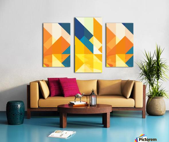Geometric LI Canvas print