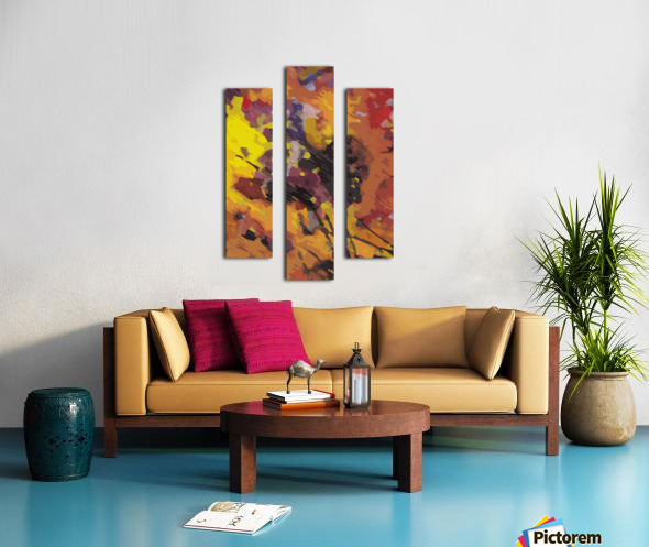 immaculate perception Canvas print