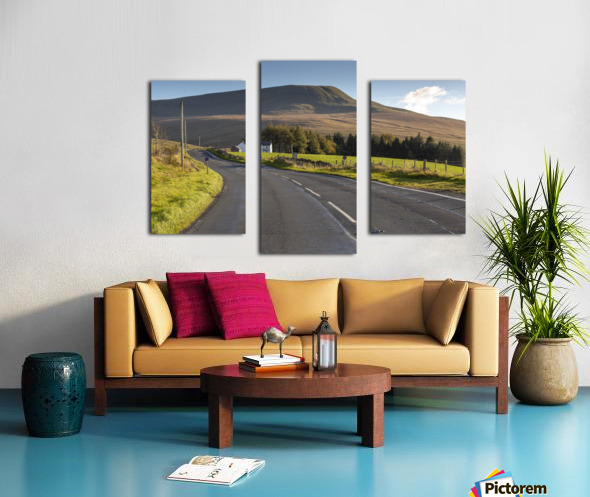Fan Gyhirych in South Wales UK Canvas print