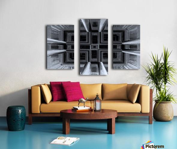 oben oder unten  Canvas print