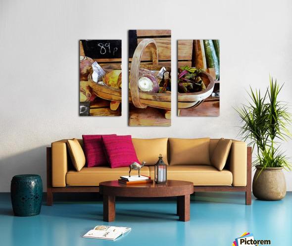 Swede Sale Display Canvas print