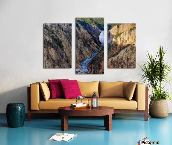 Yellowstone National Park Lower Falls Canvas print