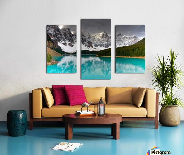 Canadian Rockies Canvas print