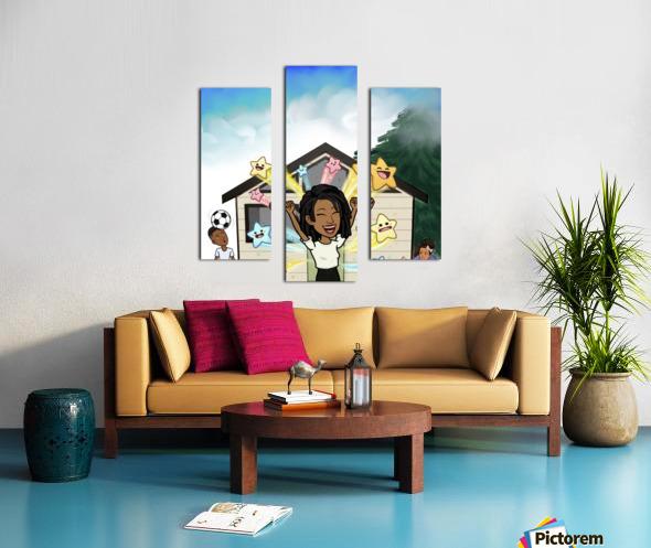 Kids room Canvas print