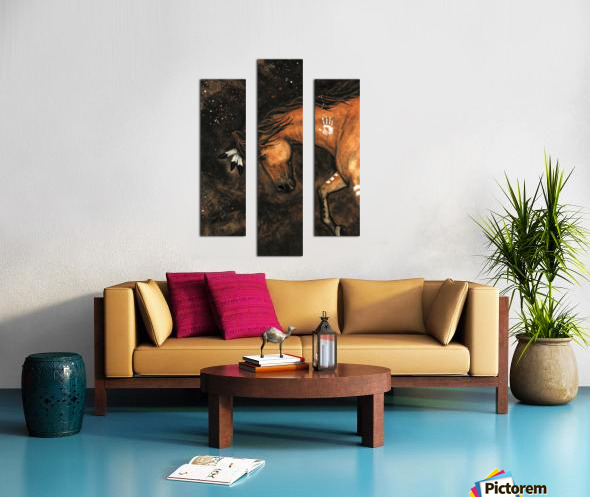 Night Walker Canvas print